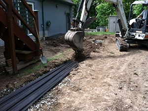 French-Drain-Lakewood-WA